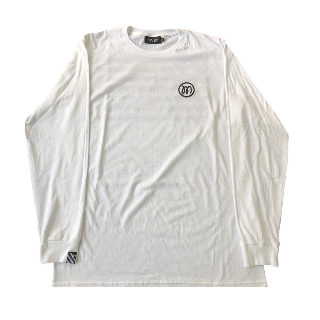 Camiseta Manga Longa SP Flag MVRK Branca