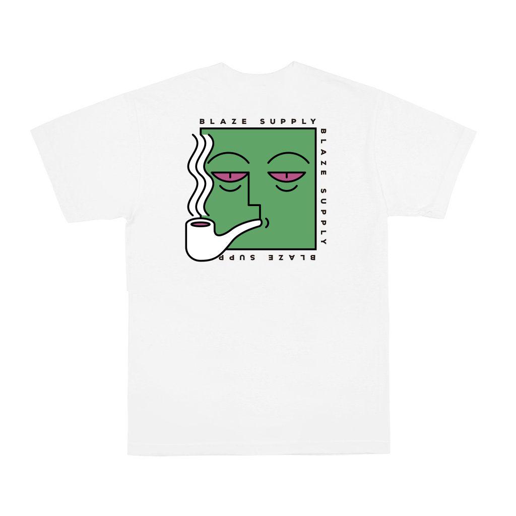 Camiseta Pocket Tee Eyes White Blaze Supply