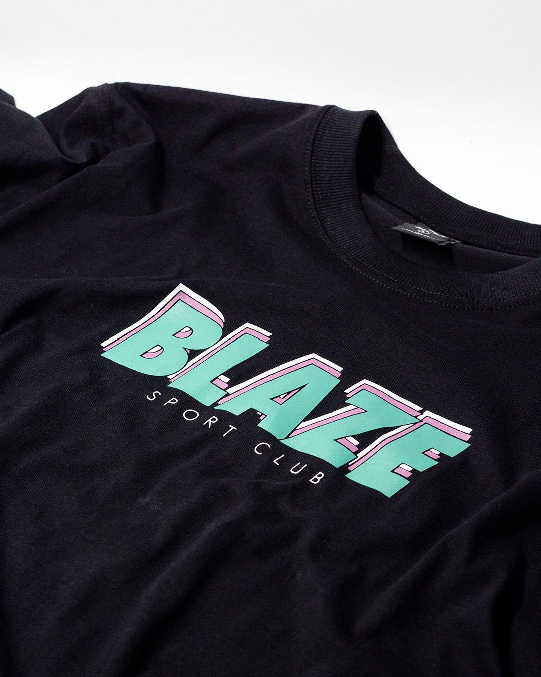 Camiseta Sport Club Black Blaze Supply