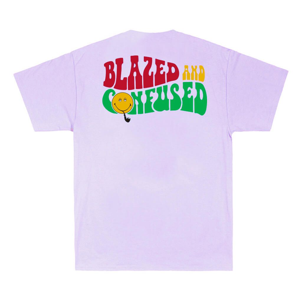 Camiseta Tee Blazed And Confused Purple Blaze Supply