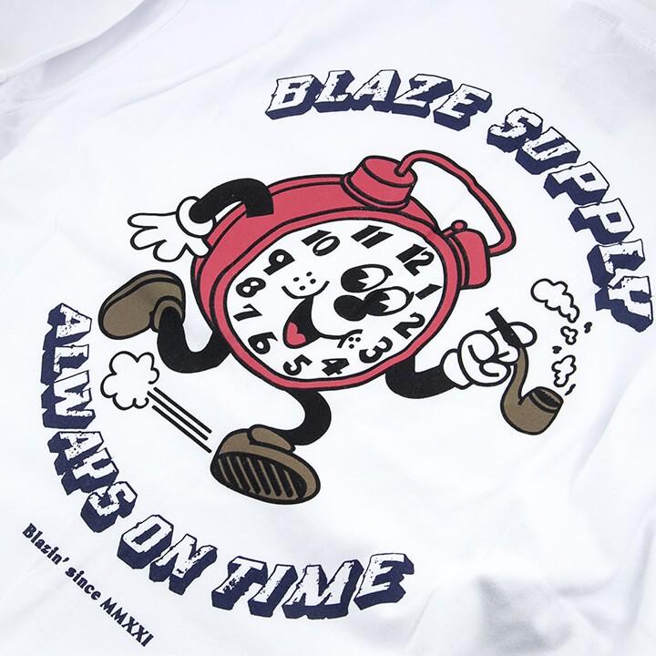 Camiseta Tee Clock Blaze Supply