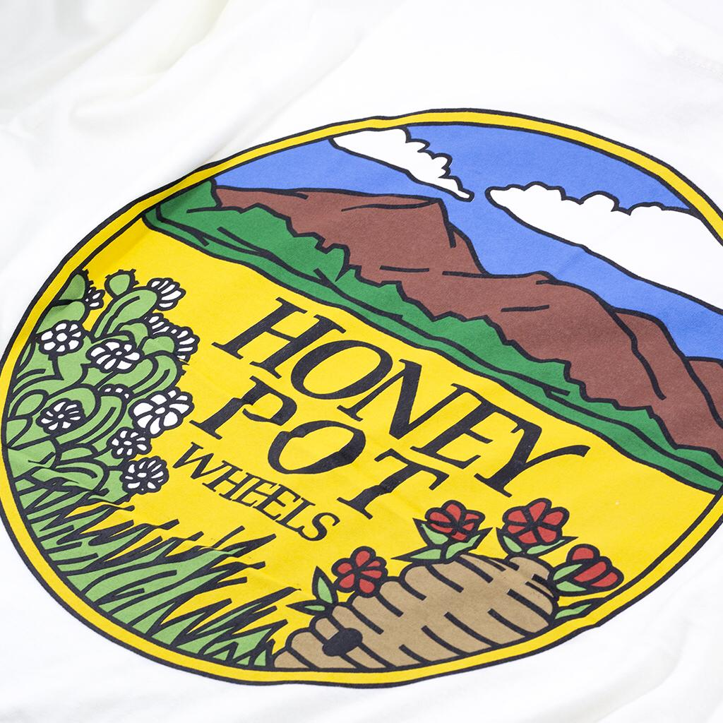 Camiseta Tee Hpw Fields Off White