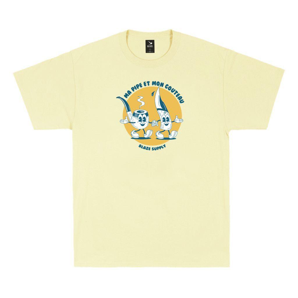 Camiseta Tee Ma Pipe Yellow Blaze Supply