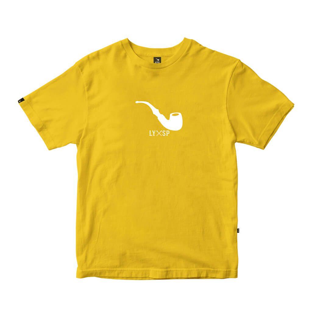 Camiseta Tee Pipe Basic Mustard Blaze Supply