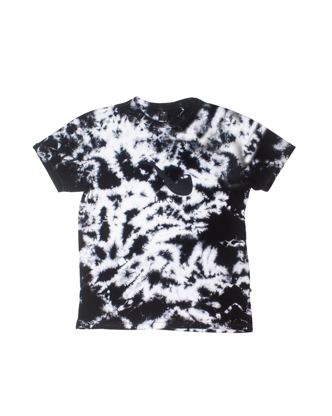 Camiseta Tie Dye Pipe Black Blaze Supply