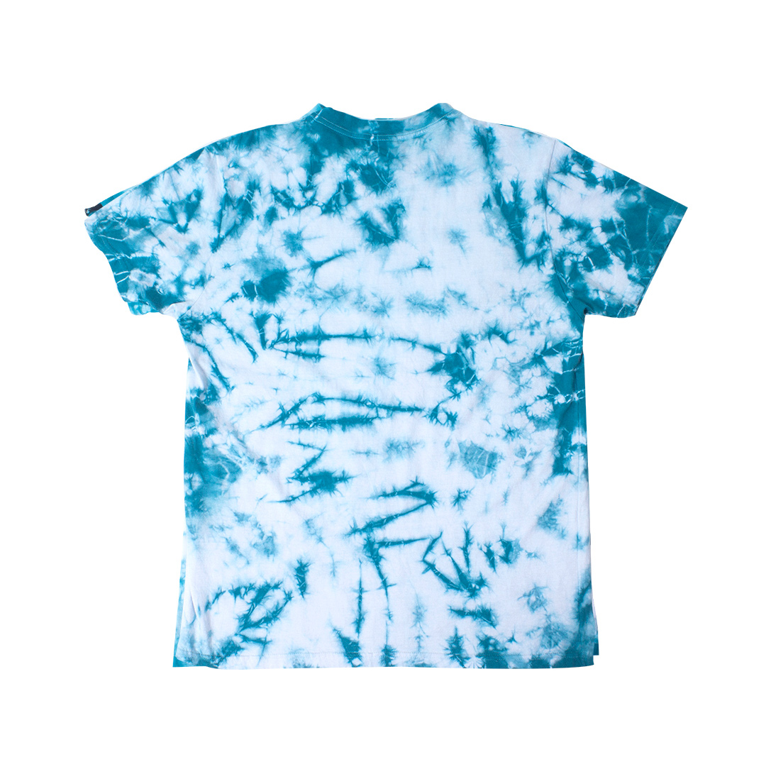 Camiseta Tie Dye Pipe Blue Blaze Supply