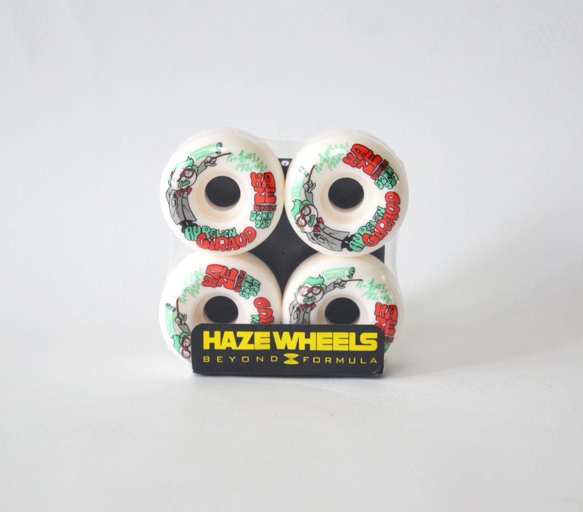 Rodas Signature Haze Wheels AURELIEN GIRAUD 52 mm 99A