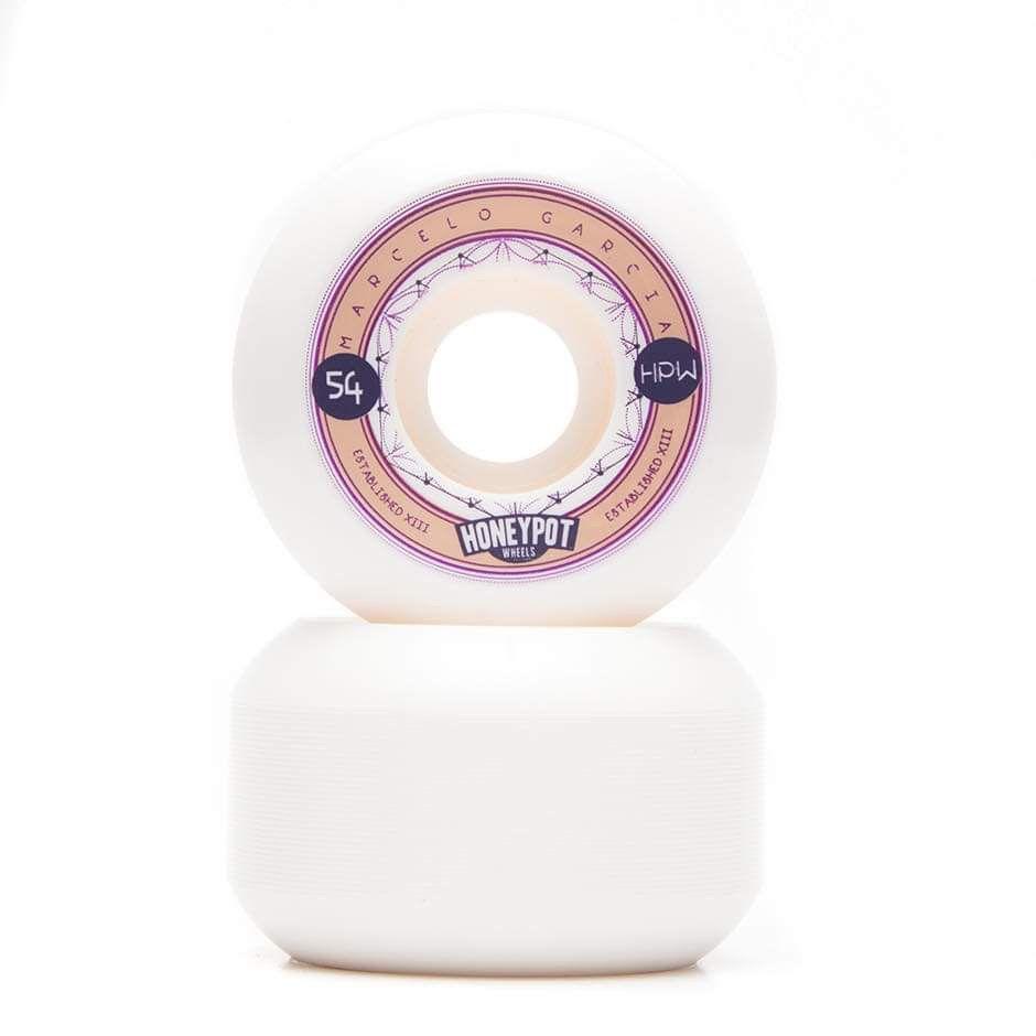 """Rodas Signature Honeypot Wheels Marcelo Garcia """"DODO"""" 54 mm V5 101A"""