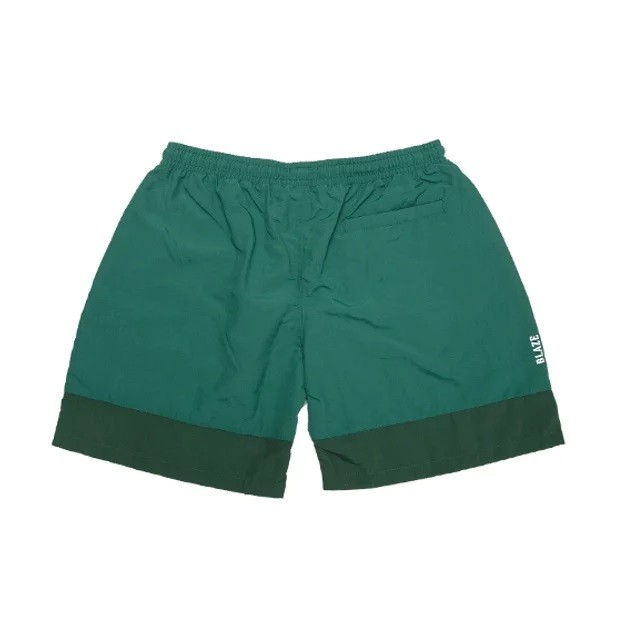 Shorts Bicolor Patch Green Blaze Supply