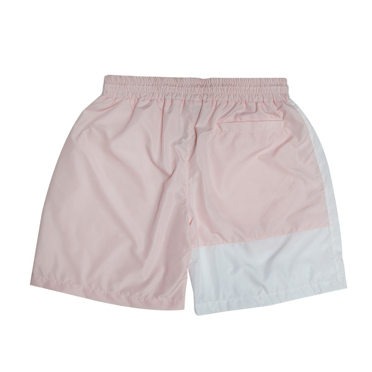 Shorts Pipe Bicolor White/ Pink Blaze Supply