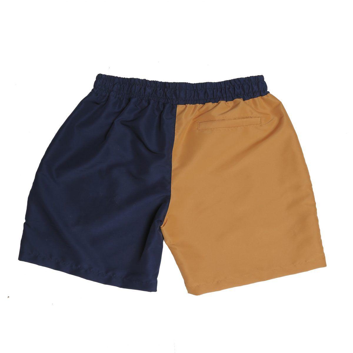 Shorts Script Bicolor Blue/ Yellow Blaze Supply