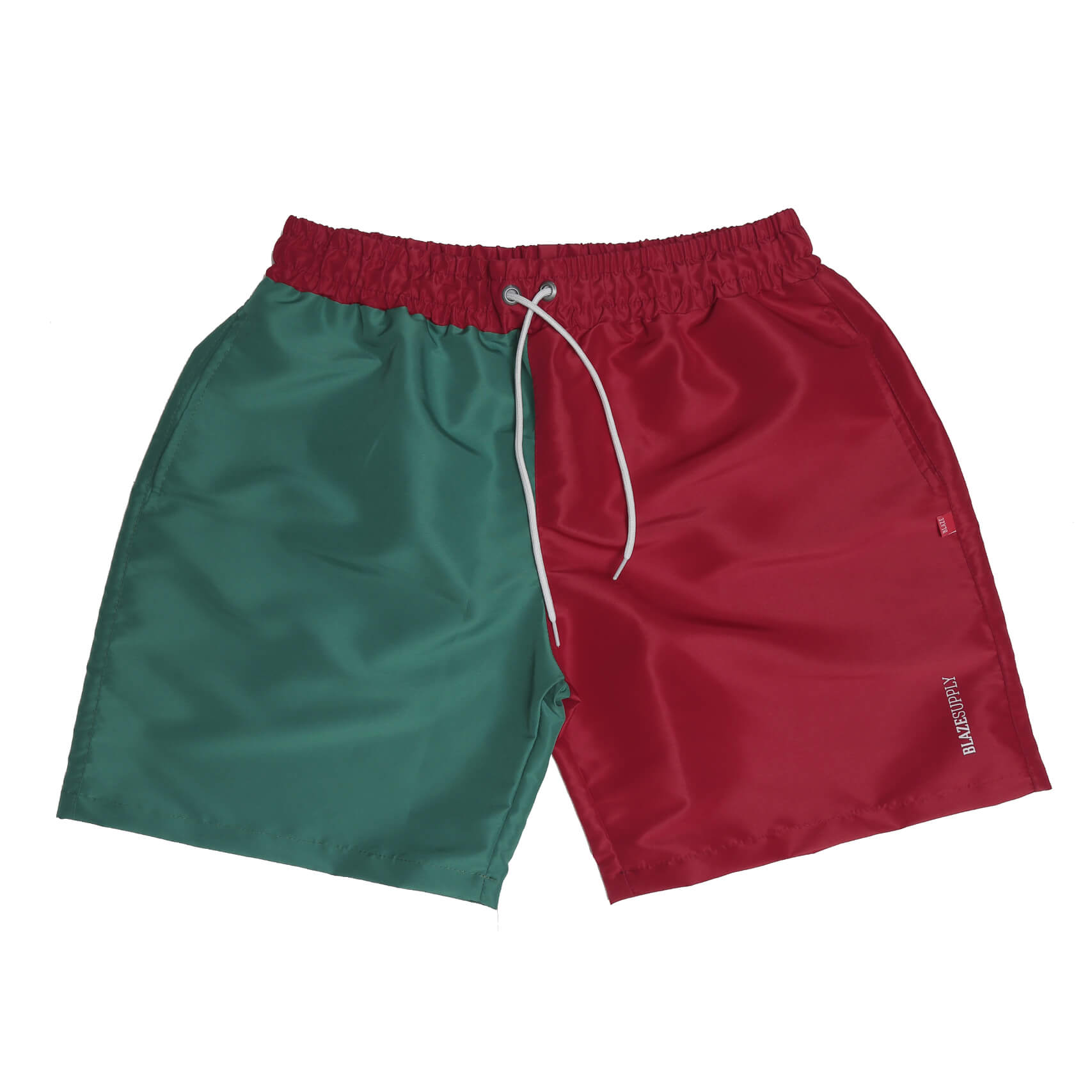 Shorts Script Bicolor Red/ Green Blaze Supply