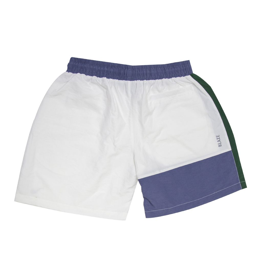 Shorts Tricolor Blaze Supply White
