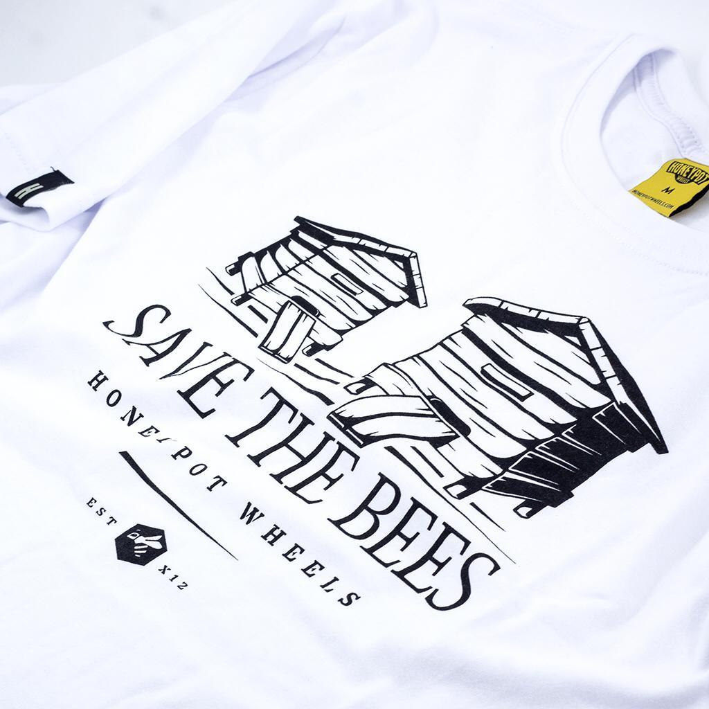 Camiseta Tee Hpw Save The Bees White