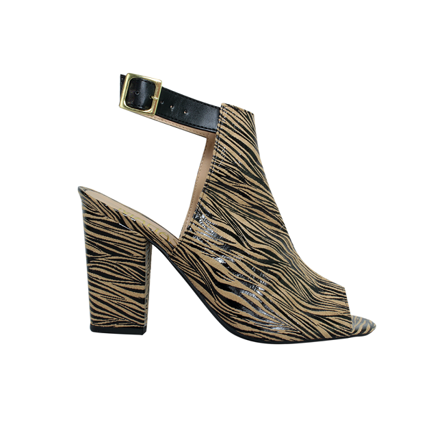 Ankle Boot Suede Gnu Salto Grosso