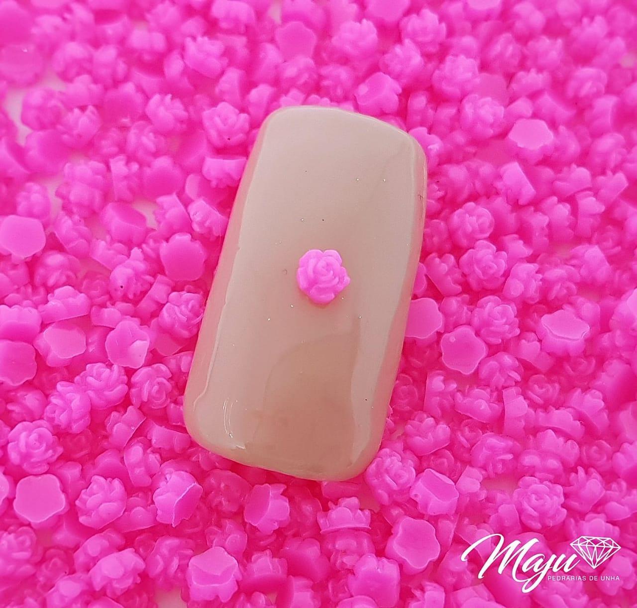FLOR 3D 3MM ROSA PINK