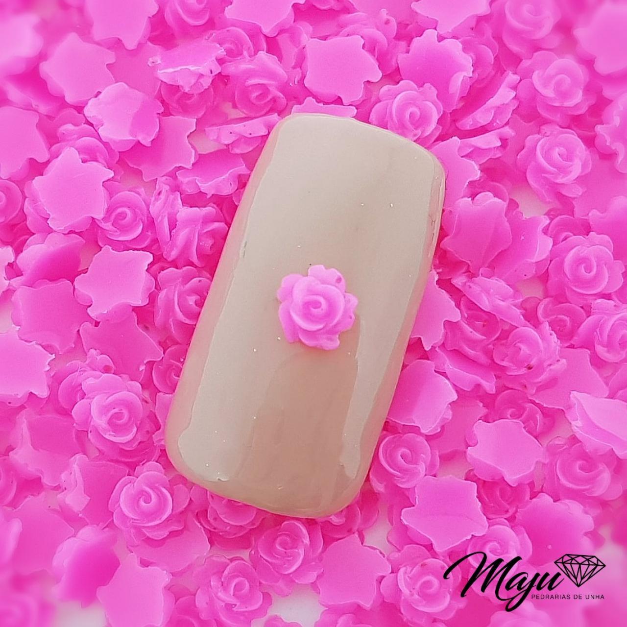 FLOR 3D 5MM ROSA PINK