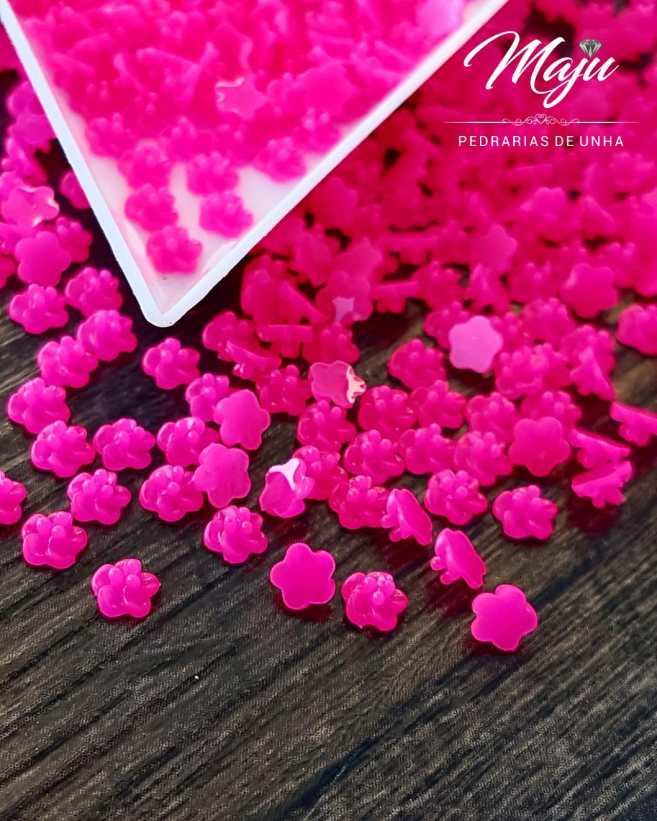 FLOR DE LOTUS 4MM ROSA PINK