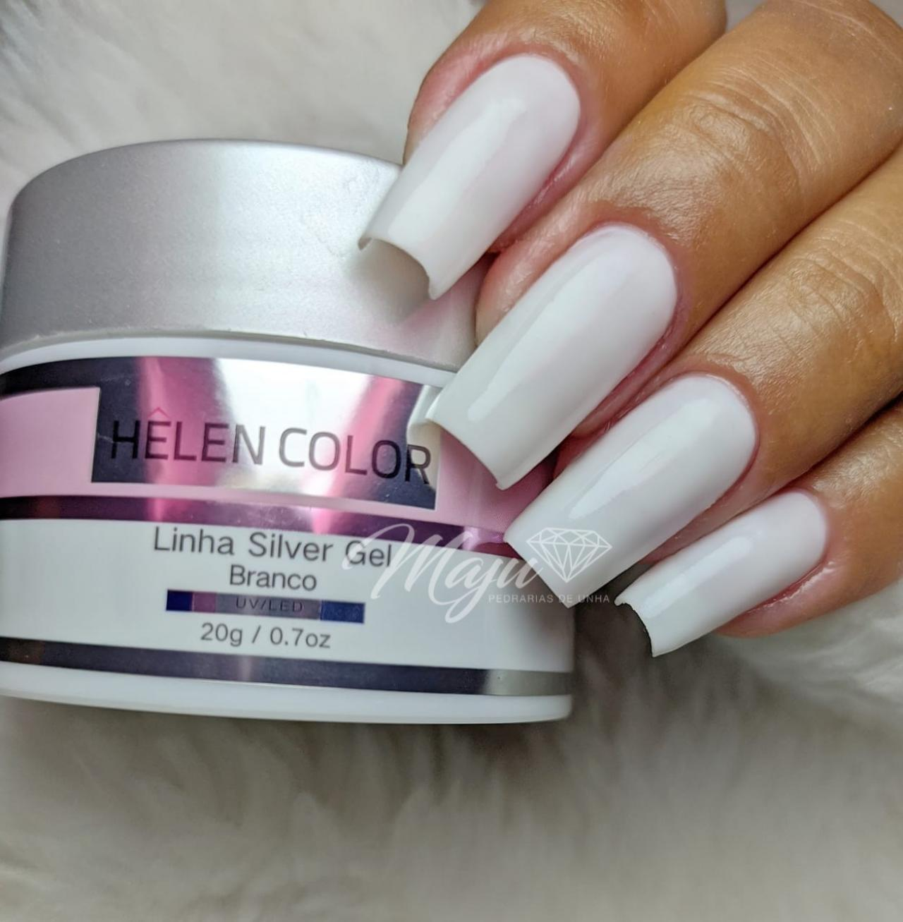 GEL BUILDER HELLEN COLOR 20G. BRANCO 002