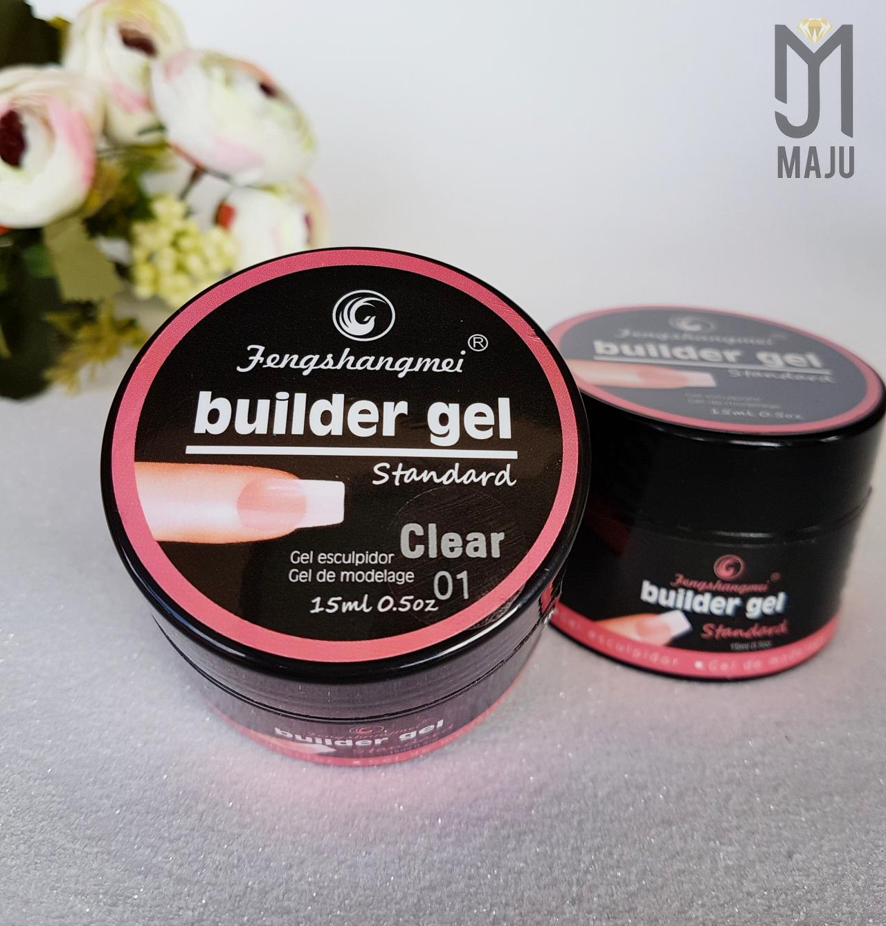 GEL BUILDER UV LED CLEAR 01 15G.
