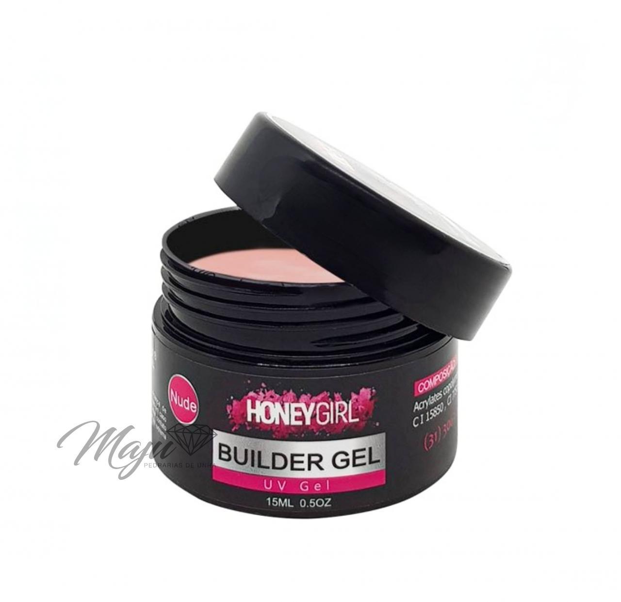 GEL HONEY GIRL BUILDER 15ML. NUDE