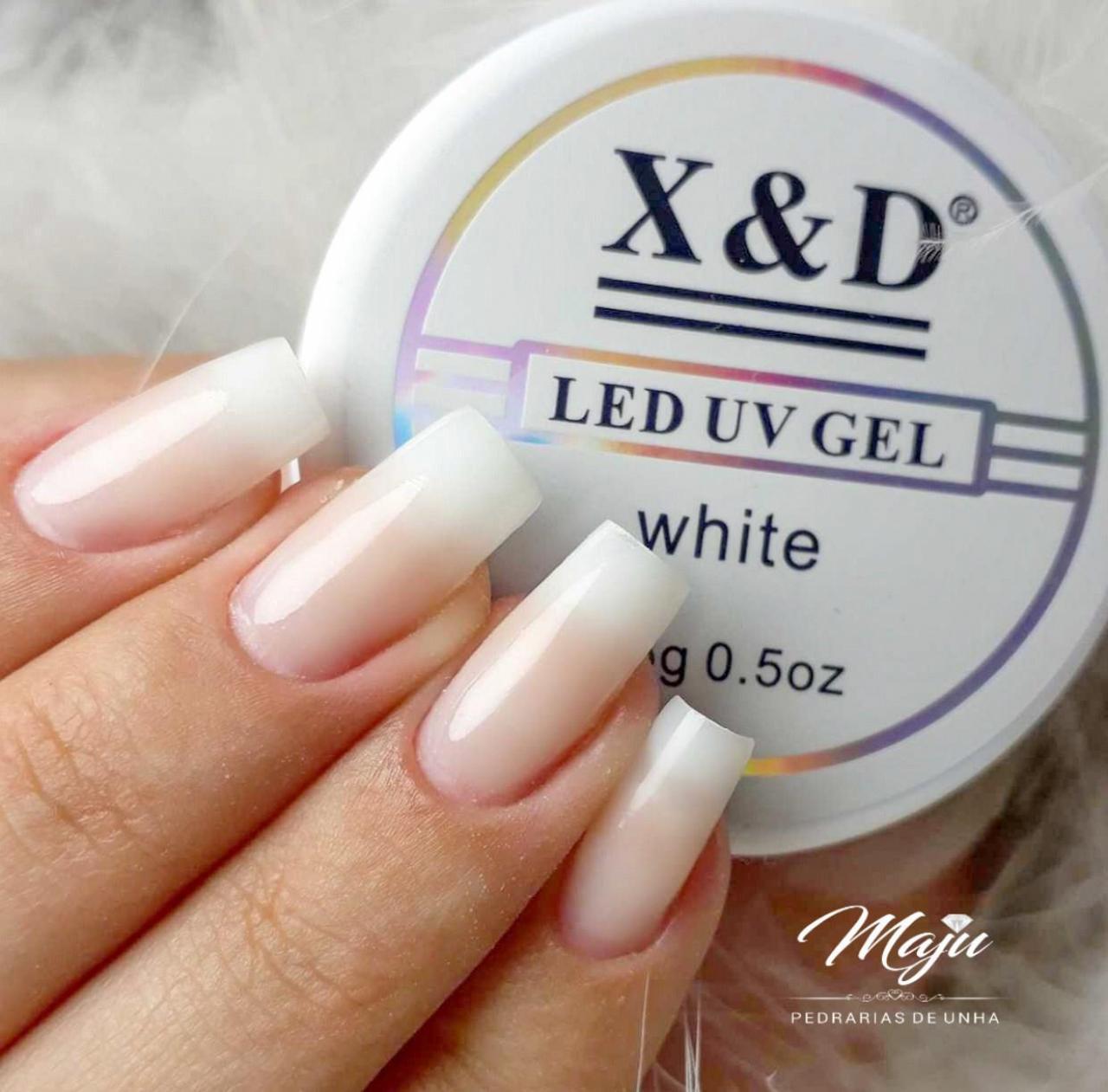 LED UV GEL X&D WHITE 15G.