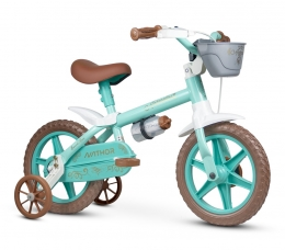 Bicicleta Nathor Antonella baby Verde Aro 12