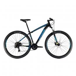 BICICLETA ARO 29 HACKER SPORT PRETA/AZUL/S-LIME OGGI