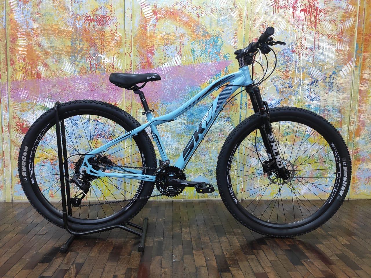 Bicicleta Sky Feminina 24v Aro 29