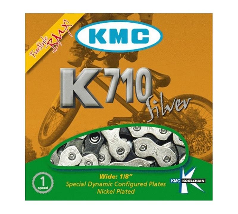 CORRENTE 1/2 X 1/8  114L CROMADA K710 KMC