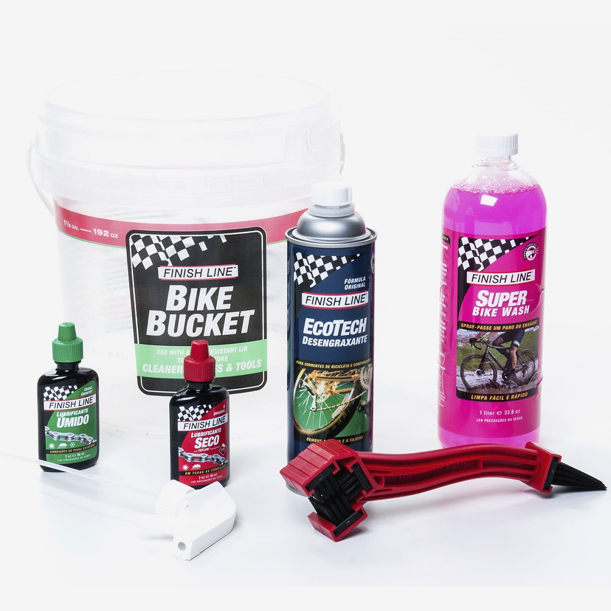 KIT LIMPEZA PRO CARE 6.0 FINISH LINE