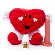Pelúcia Coração Feliz com Prótese