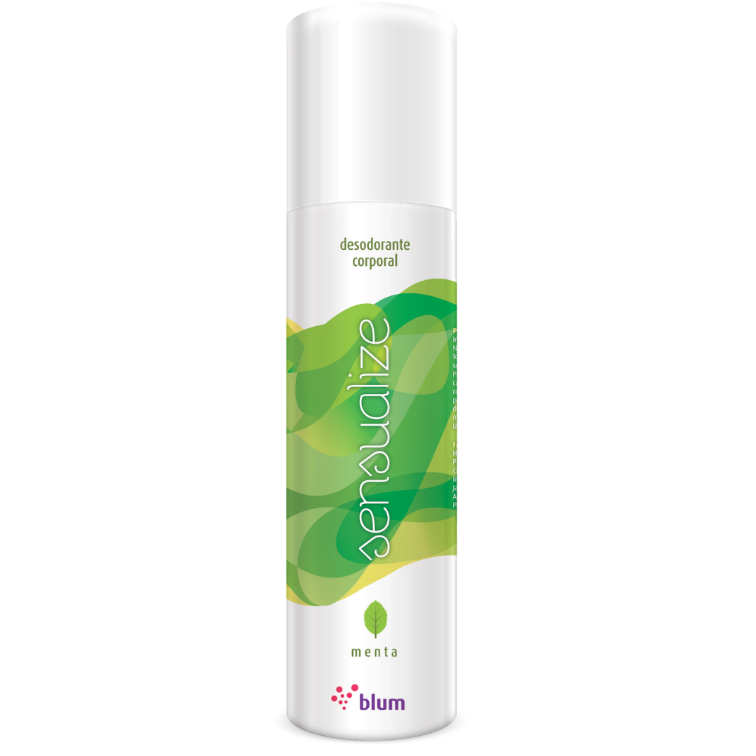 Desodorante Corporal De Menta Perfume Suave e Refrescante