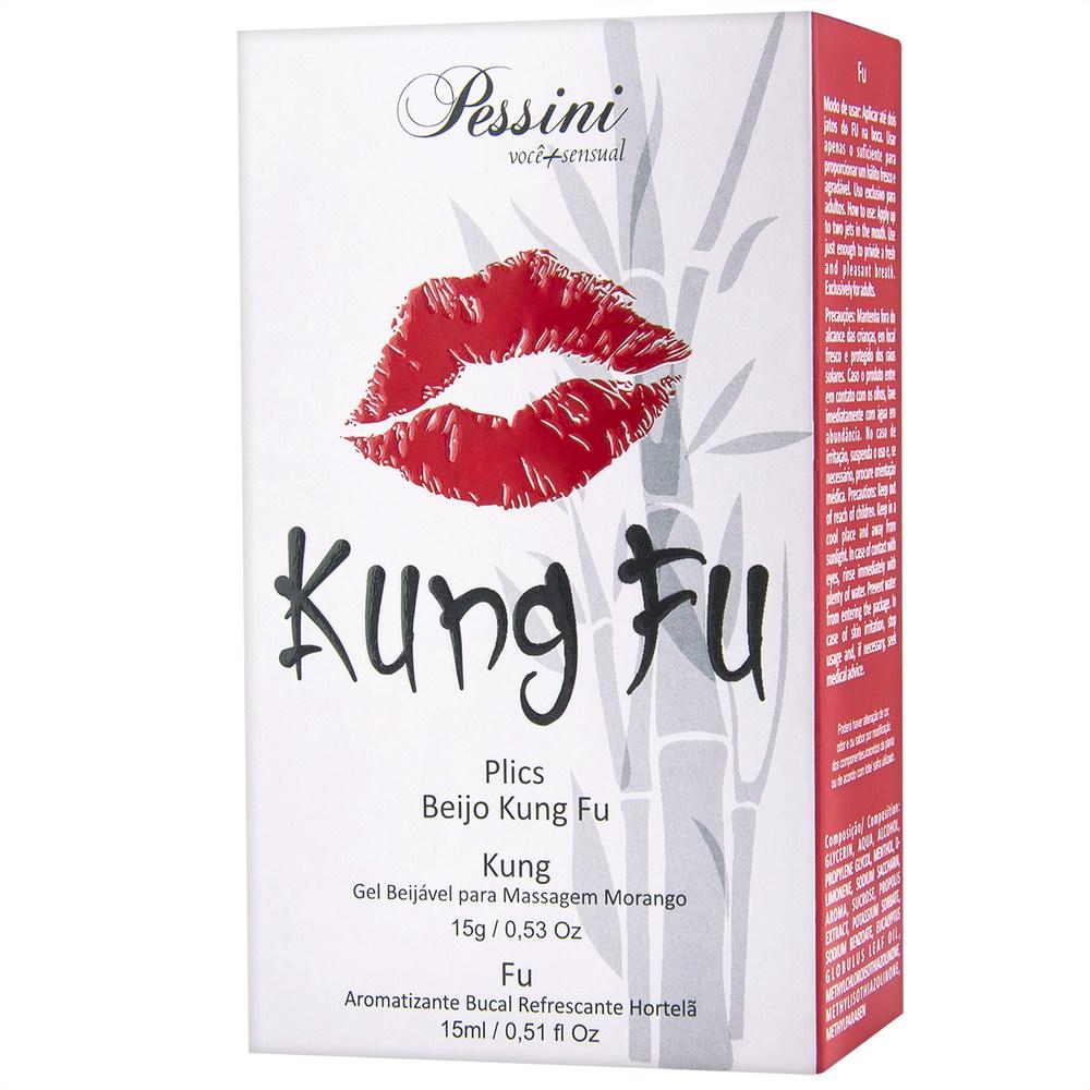 Kung Fu - Gel Beijável Morango
