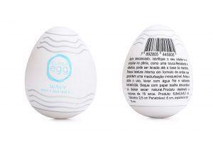 Ovinho Masturbador Super Egg Wavy