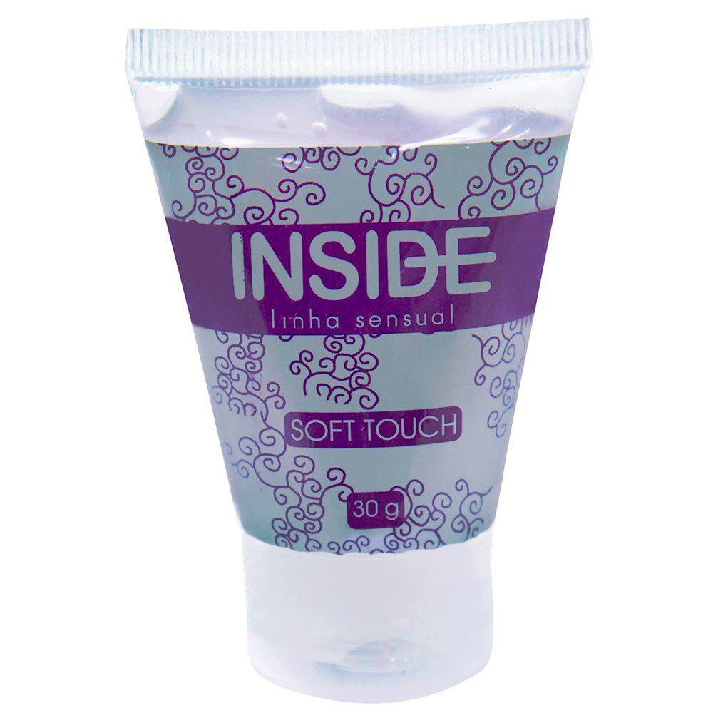 Soft Touch Inside Lubrificante Siliconado ideal para usar na água