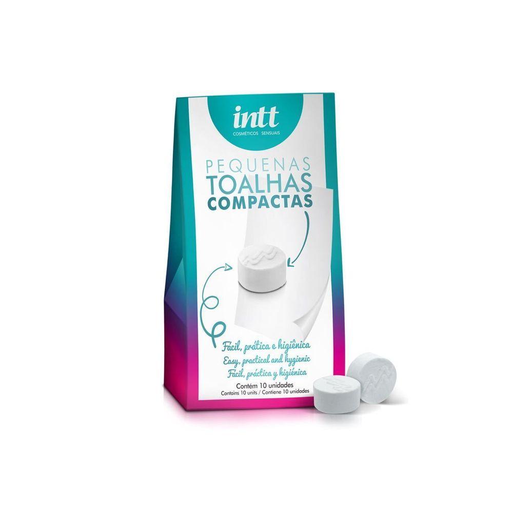 Toalhas Compactas Descartáveis -  Pacote com 10 Unidades