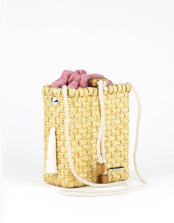 Bolsa Palha Bag Rosa