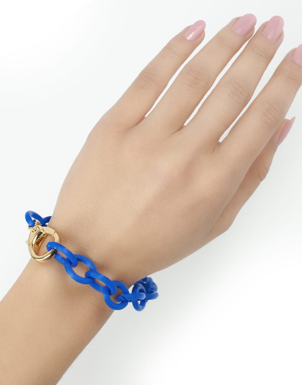 Pulseira Elo 3D Azul