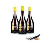Combo 3 Vinhos Naturais 300 Onças Riesling - LEVE GRÁTIS 1  Saca rolhas