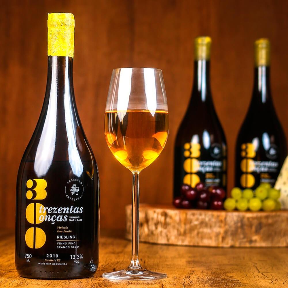 Vinho Natural 300 Onças Riesling - Villa Don Basílio
