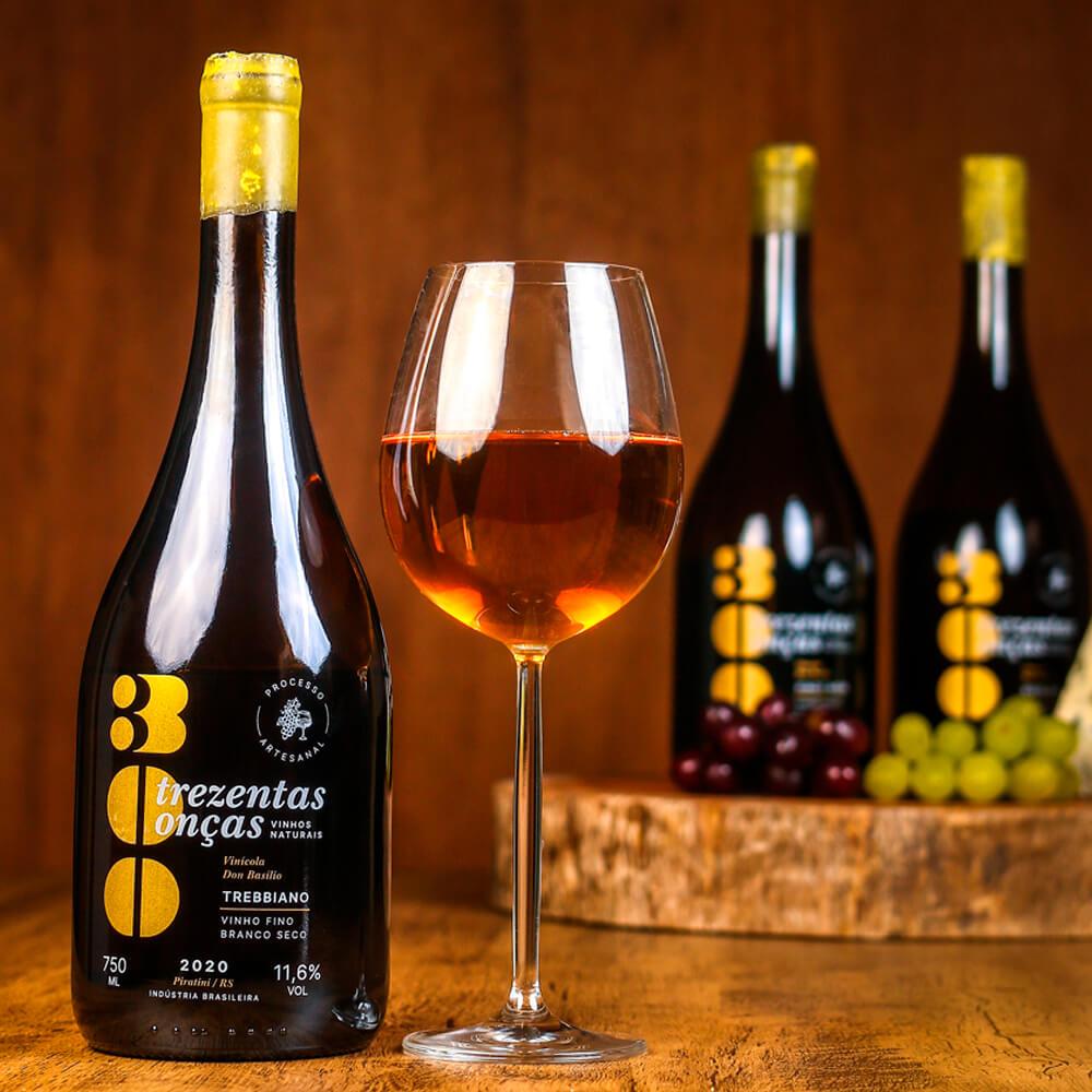 Vinho Natural 300 Onças Trebbiano - Villa Don Basílio
