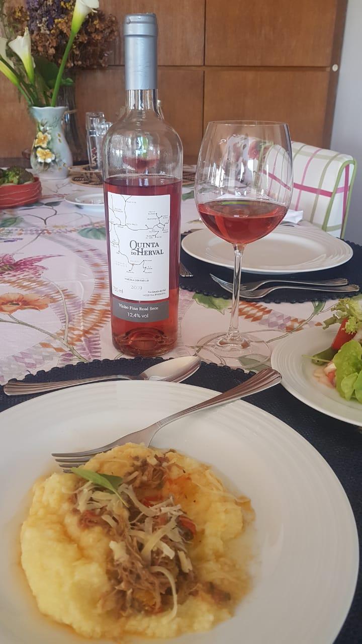 Kit Dupla de Rosé Vinho Fino Rosé Seco + Espumante Rosé Brut