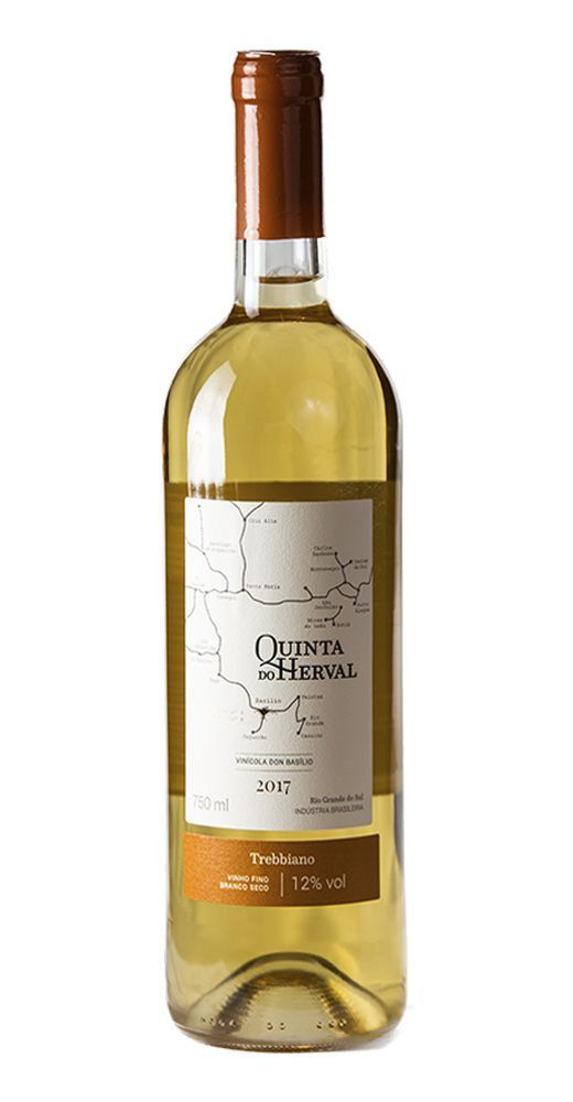 Vinho Branco Trebbiano - Quinta do Herval - Safra 2019