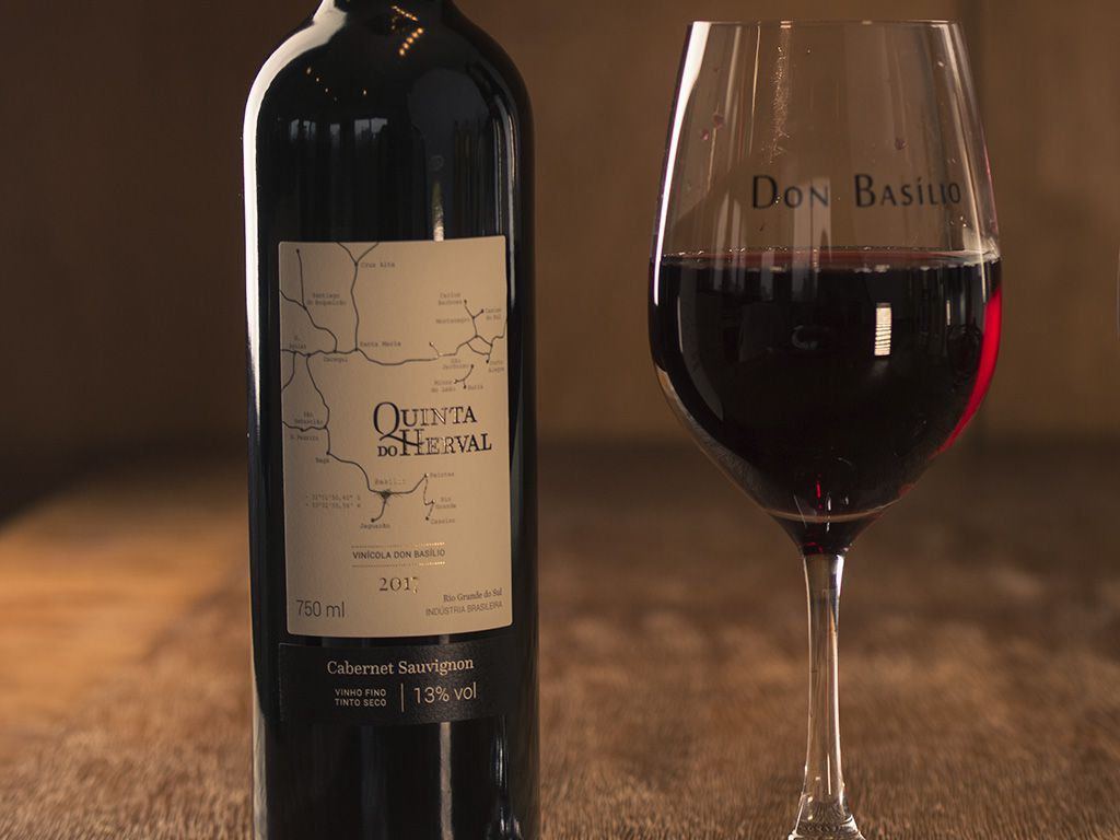 Vinho Tinto Cabernet Sauvignon - Quinta do Herval