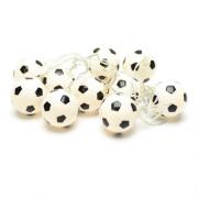 Cordão de bolas led Futebol