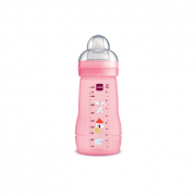 Mamadeira Mam Easy Active 270ml 2m+ Rosa