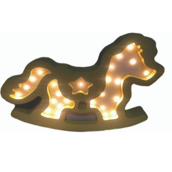 Cavalo de Balanço MDF Luminoso