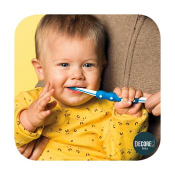 Escova Dental Training MAM Baby Brush 5m+ Rosa