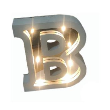 Letra Espelhada  Branca LED
